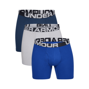 Under Armour Boxershort Charged Cotton 3er Pack blau/grau