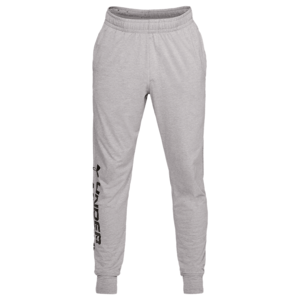 Under Armour Jogginghose Sportstyle Cotton Graphic Jogger grau/schwarz