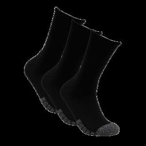 Under Armour Socken Heatgear Crew 3er Pack schwarz/weiß