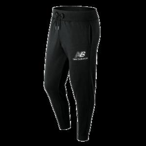 New Balance Jogginghose Essentials Stacked Logo Sweat Pants schwarz/weiß
