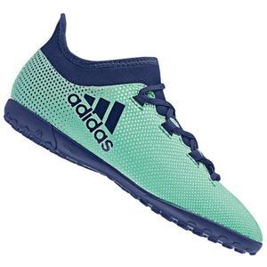 adidas Kinder Fußballschuh X Tango 17.3 TF J Kunstrasen türkisblau/dunkelblau