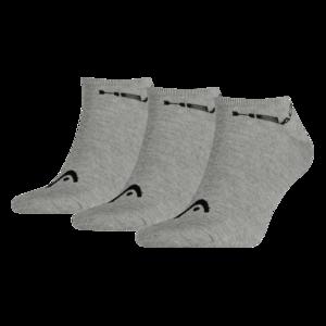 Head Socken Sneaker 3er Pack grau