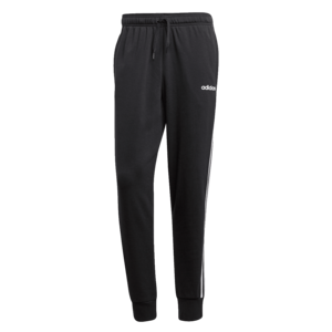 adidas Jogginghose Essentials 3S Open Hem Tapered FT Cuffed Pant schwarz/weiß