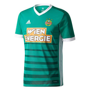 adidas SK Rapid Wien Herren Heim Trikot 2018/19 grün/hellgrün