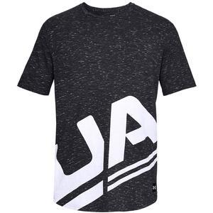 Under Armour Freizeitshirt Sportstyle Branded schwarz/weiß