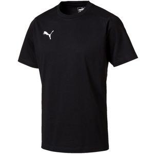 Puma Shirt Liga Casual Tee schwarz/weiß