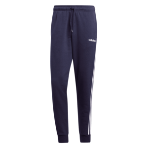 adidas Jogginghose Essentials 3S Open Hem Tapered FT Cuffed Pant dunkelblau/weiß