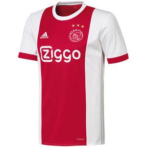 adidas Ajax Amsterdam Herren Heim Trikot 2017/18 rot/weiß