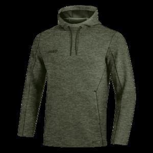 Jako Kapuzenpullover Premium Basics Sweat dunkelgrün/schwarz