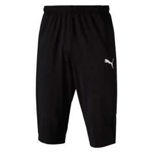 Puma 3/4 Trainingshose Liga Pants schwarz/weiß