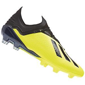 adidas Fußballschuh X 18.1 FG gelb fluo/schwarz