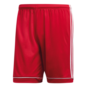adidas Short Squadra 17 rot/weiß