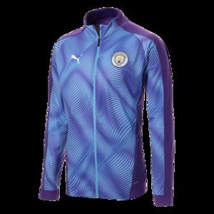 Puma Manchester City Aufwärmjacke League Stadium W Jacket violett/hellblau