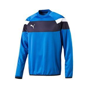 Puma Trainingspullover Spirit II Training Sweat blau/weiß