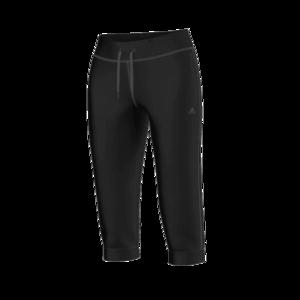 adidas Damen 3/4 Leggings Essentials Pant schwarz/weiß