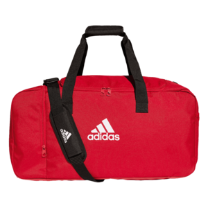 adidas Sporttasche Tiro Duffelbag M rot/weiß