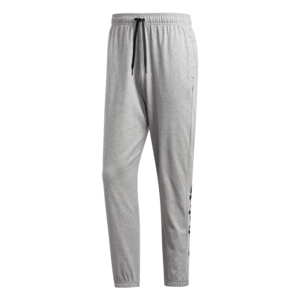 adidas Jogginghose Essentials Linear Tapered Single Pant grau/schwarz