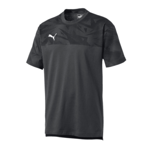 Puma Shirt Cup Casuals Tee anthrazit/weiß