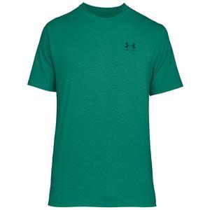 Under Armour Shirt Sportstyle Left Chest Lockup grün/blau
