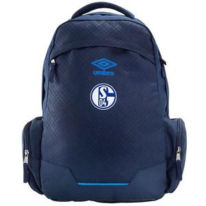 Umbro FC Schalke 04 Rucksack UX Accuro Backpack dunkelblau/blau