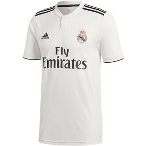 adidas Real Madrid Herren Heim Trikot 2018/19 weiß/schwarz