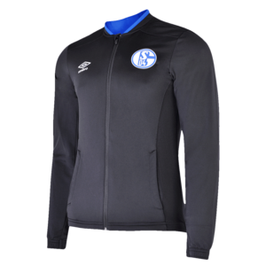 Umbro FC Schalke 04 Trainingsjacke Knit Jacket schwarz/blau