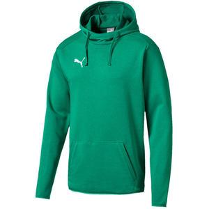 Puma Kapuzenpullover Liga Casuals Hoody grün/weiß