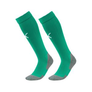 Puma Stutzen Liga Core Socks grün/weiß