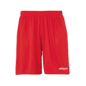 Uhlsport Short Center ohne Innenslip rot/weiß