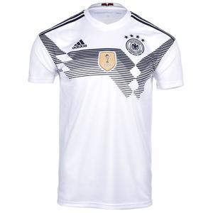adidas Deutschland Herren Heim Trikot 2018/19 weiß/schwarz