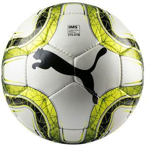 Puma Fußball Final 4 Club IMS Appr. Größe 5 weiß/gelb fluo