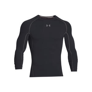 Under Armour Langarm Funktionsshirt HeatGear Compression Top schwarz