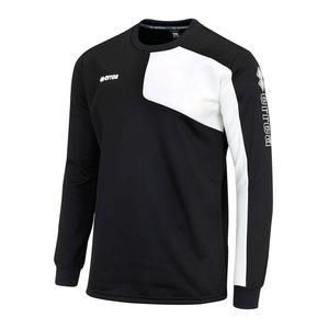 Errea Pullover Mavery schwarz/weiß
