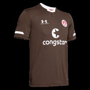 Under Armour FC St. Pauli Herren Heim Trikot 2019/20 braun/weiß