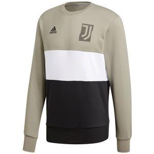 adidas Juventus Turin Trainingsoberteil Graphic Sweat Top hellbraun/schwarz