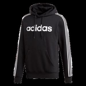 adidas Kapuzenpullover Essential 3S Fleece schwarz/weiß