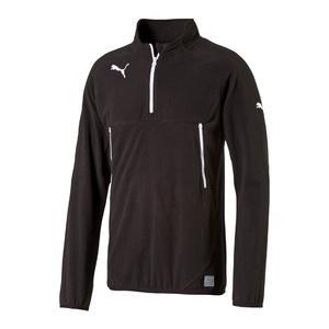Puma Esito 3 Trainings Top 1/4 Zip Fleece schwarz/weiß