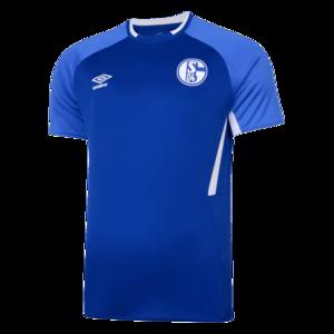 Umbro FC Schalke 04 Trainingsshirt blau/weiß