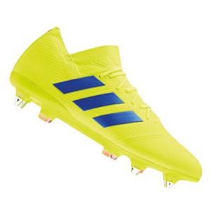 adidas Fußballschuh Nemeziz 18.1 SG gelb fluo/blau