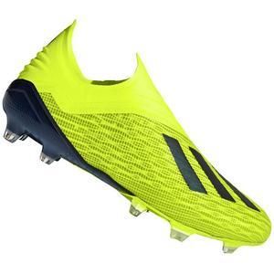 adidas Fußballschuh X 18+ FG gelb fluo/schwarz
