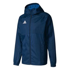 adidas Regenjacke Tiro 17 dunkelblau/weiß