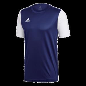 adidas Trikot Estro 19 Jersey dunkelblau/weiß