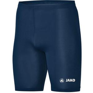 Jako Funktionsshort Tight Basic 2.0 dunkelblau/weiß