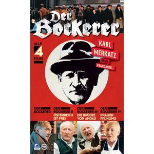Merkatz, Karl - Der Bockerer Teil 1-4 [2 DVDs] - 2 DVD
