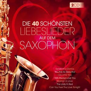 Martin, Lui - Die 40 Schönsten Liebeslieder Am Saxophon (Instr.) - 2 CD