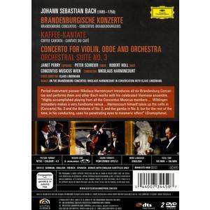 Harnoncourt, Nikolaus - Brandenburger Konzerte - 2 DVD