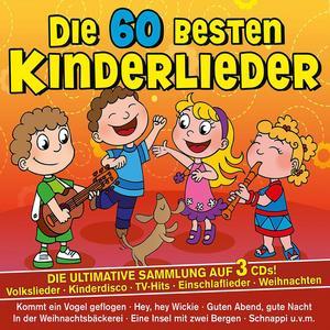 Various - Die 60 Besten Kinderlieder Vol. 1 - 3 CD