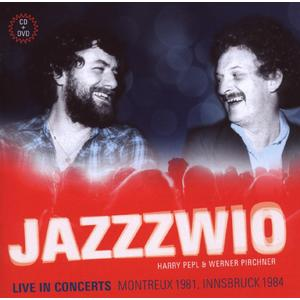 Jazzzwio (Pepl / Pirchner) - Live In Concerts - 2 CD+DVD