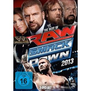 WWE - The Best Of Raw & Smackdown 2013 [3 DVD] - 1 DVD