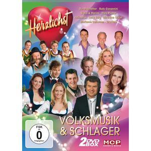 Various - Herzlichst Volksmusik & Schlag - 2 DVD